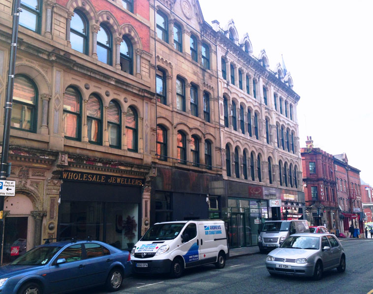 Jewel House Northern Quarter Manchester