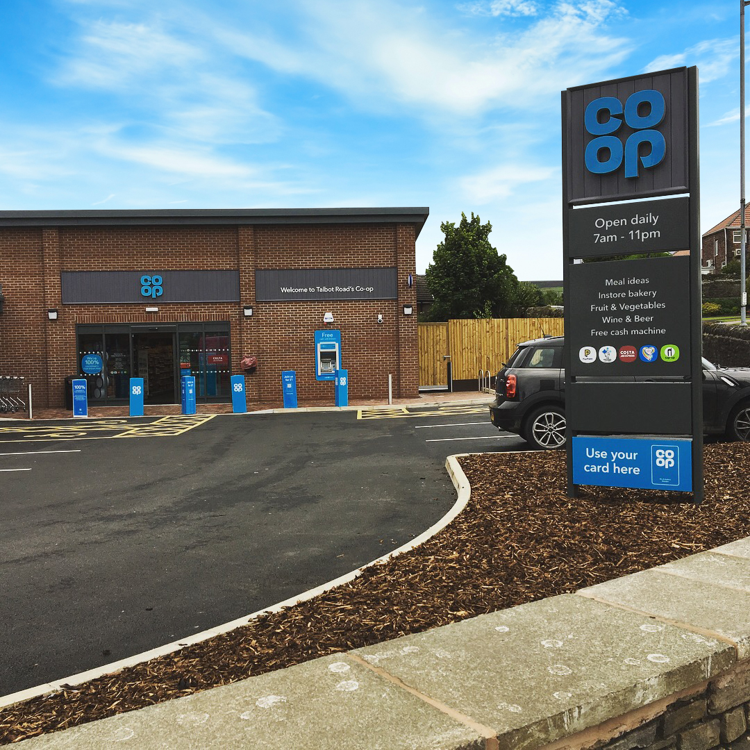 Co-op Sign Real Estate Investment Partnerships